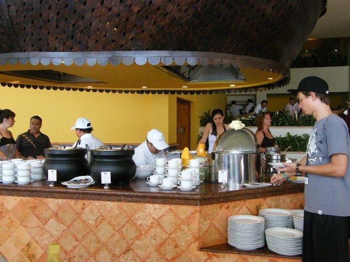 Grand Park Royal Cancun Caribe Mexico Breakfast