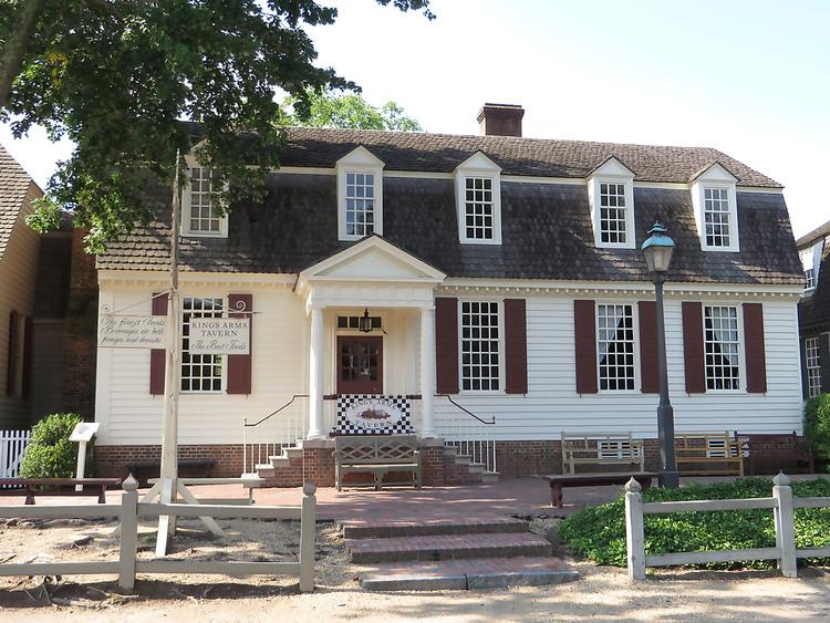 King's Arms Tavern Williamsburg