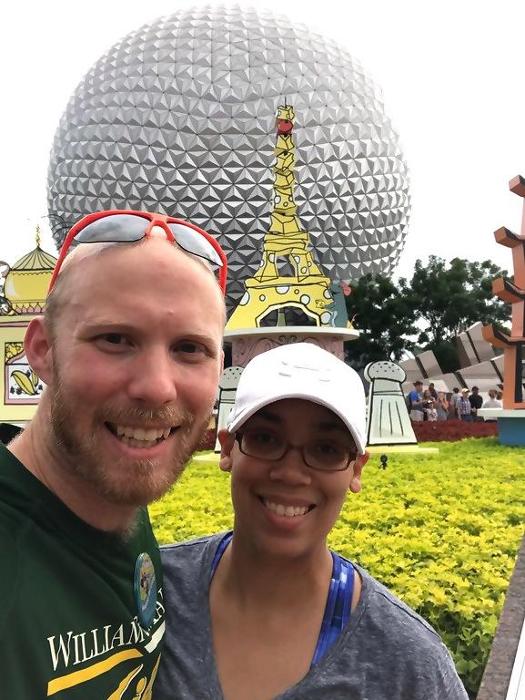 Walt Disney World Epcot Geosphere