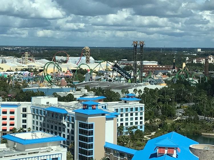 Universal Studios Islands of Adventure The Incredible Hulk Coaster From Aventura