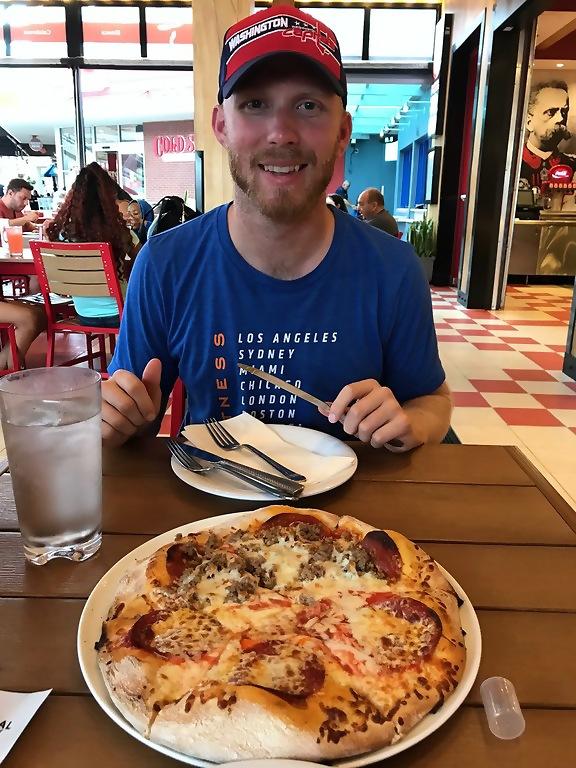 Universal Orlando Resort CityWalk Red Oven Pizza