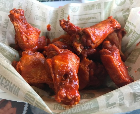 Wing Stop keto-friendly restaurants