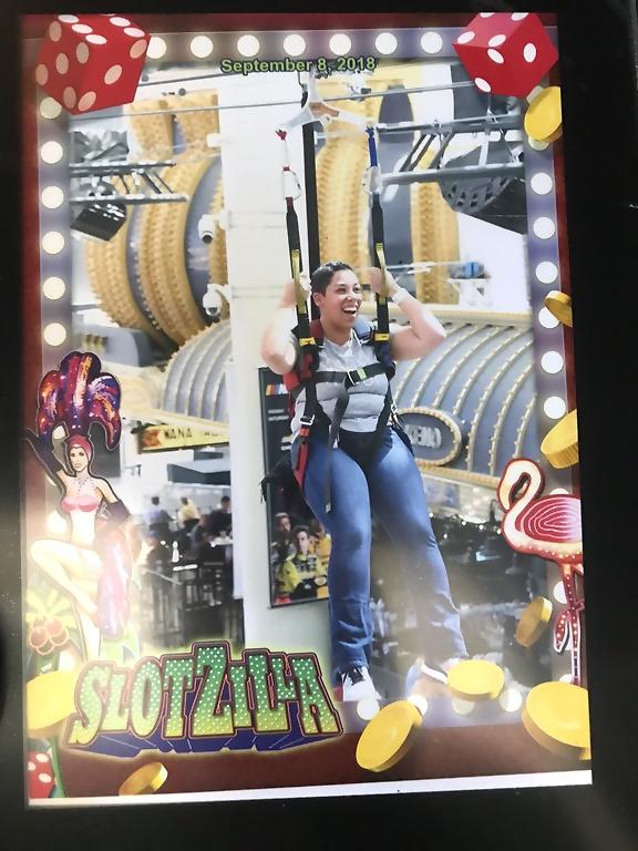 Las Vegas zipline Slotzilla