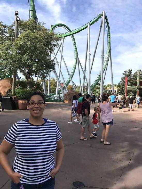 Universal Orlando Islands of Adventure The Incredible Hulk Coaster