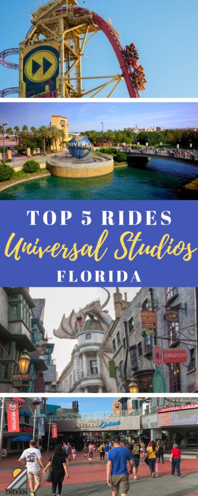 Top 5 Rides at Universal Studios Florida