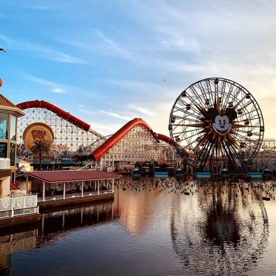 Disneyland California Adventure Pixar Pier