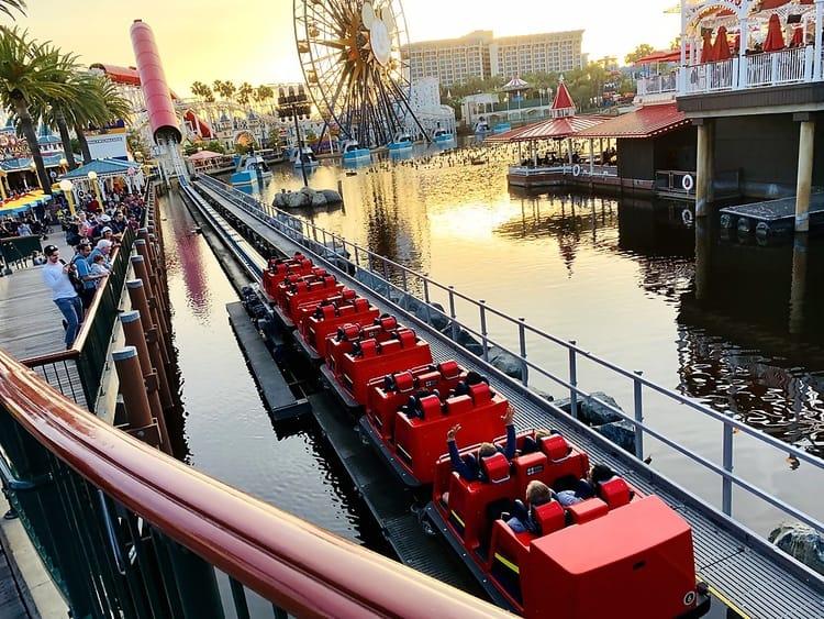 Incredicoaster Disneyland California Adventure