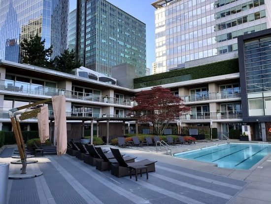 Fairmont Pacific Rim Pool Wellness Retreat