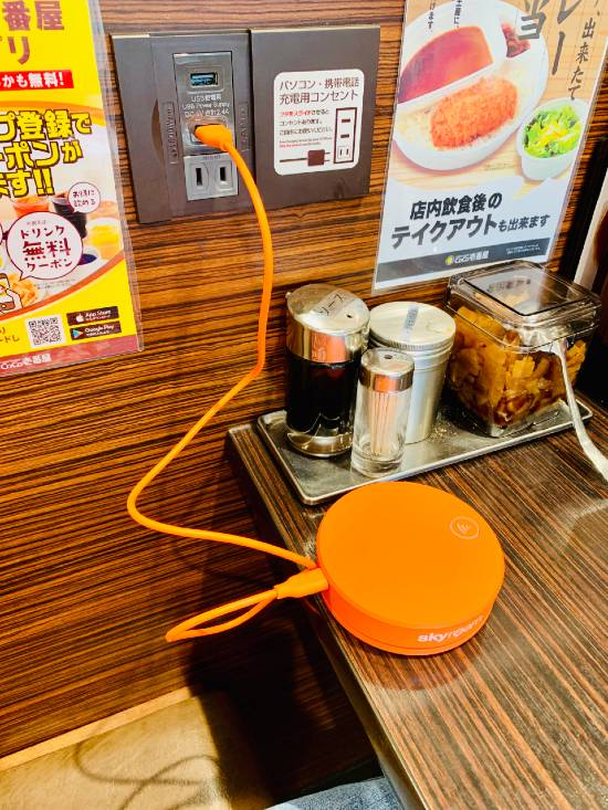Kyoto Japan Skyroam portable wifi