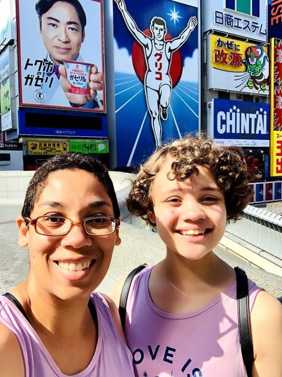 Glico Running Man Dotonbori Osaka