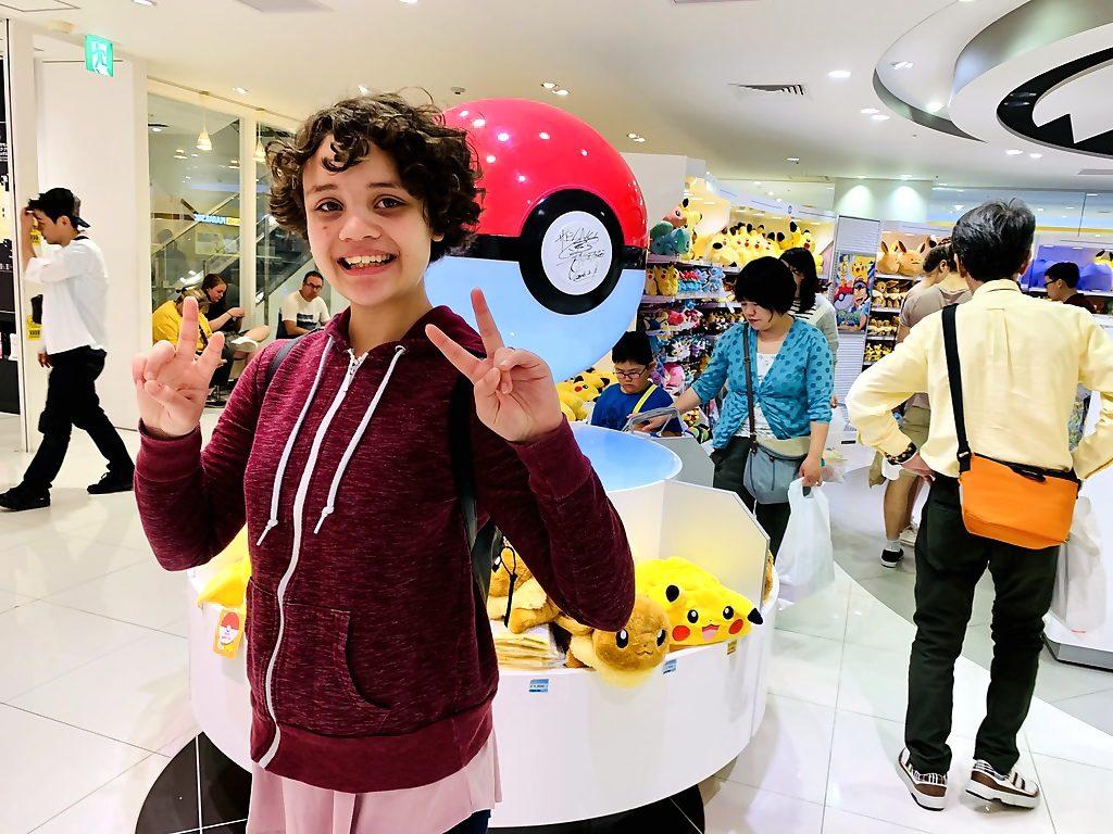 Pokecenter in Osaka, Japan