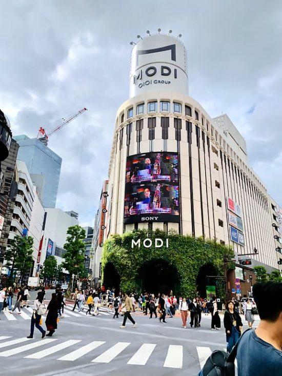 Tokyo Modi Building The Scramble
