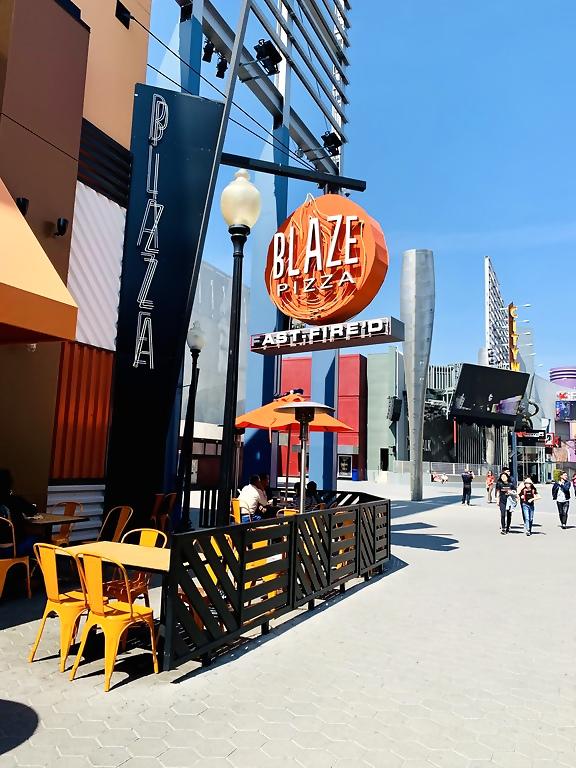 Universal Studios Hollywood CityWalk Blaze Pizza