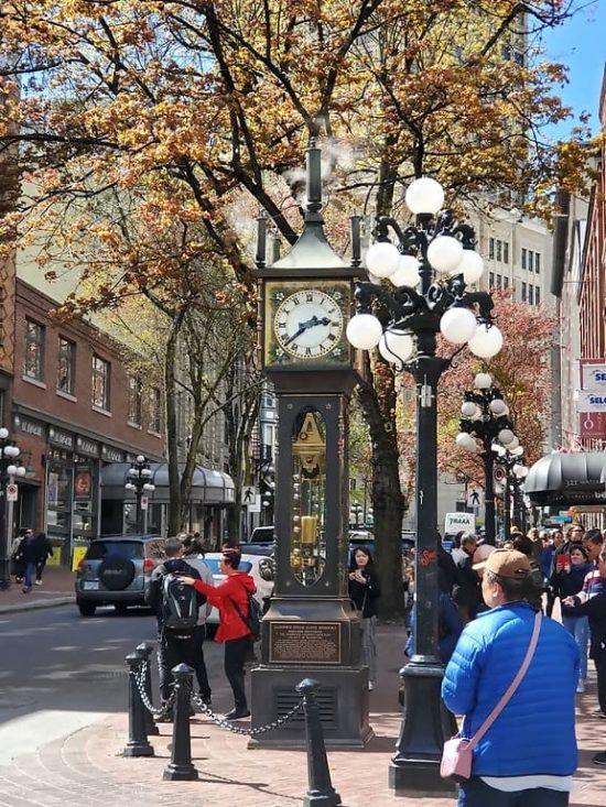 Vancouver Gastown Steam Clock