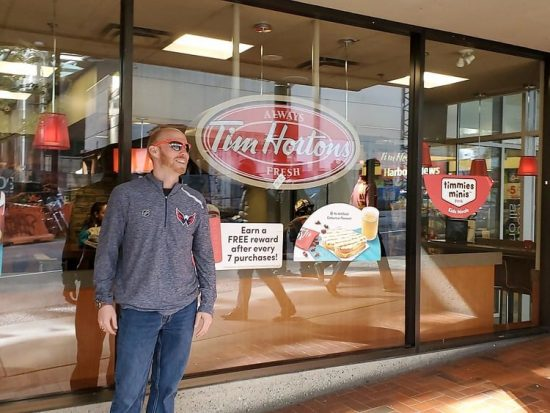 Vancouver Food Tim Hortons
