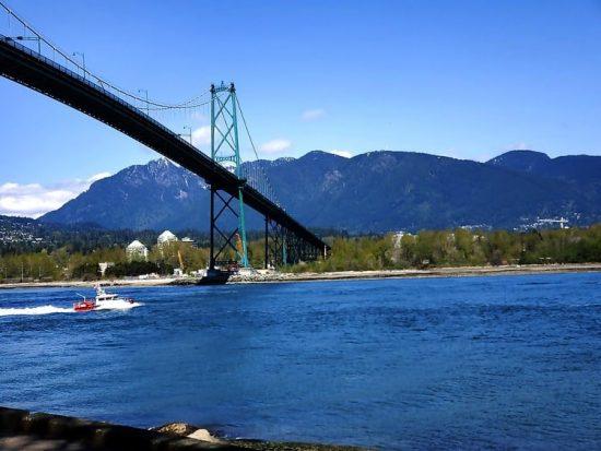 Vancouver Stanley Park Bridge