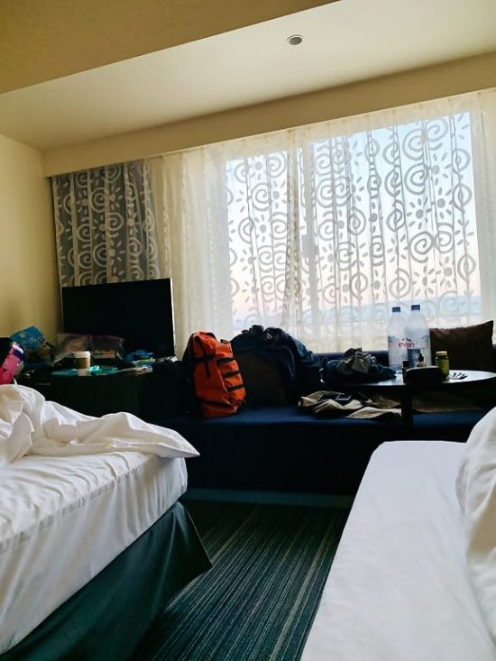 Universal Port Hotel Guest Room