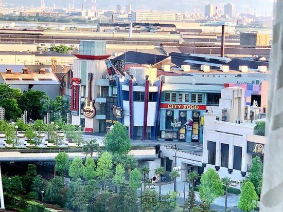 Universal Port Hotel City Walk View Universal Studios Japan Osaka