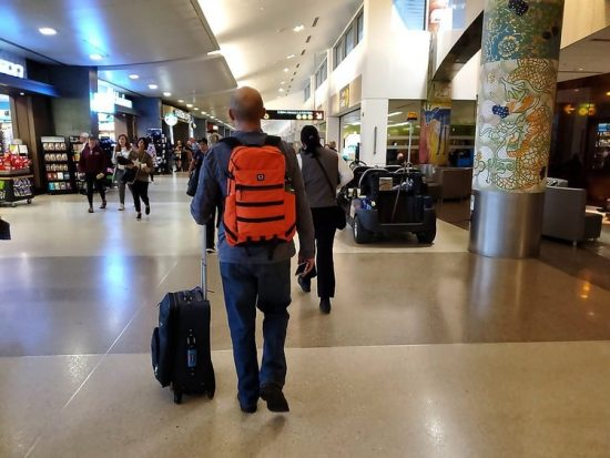 Airport Luggage Travel Anxiety SeaTac Airport