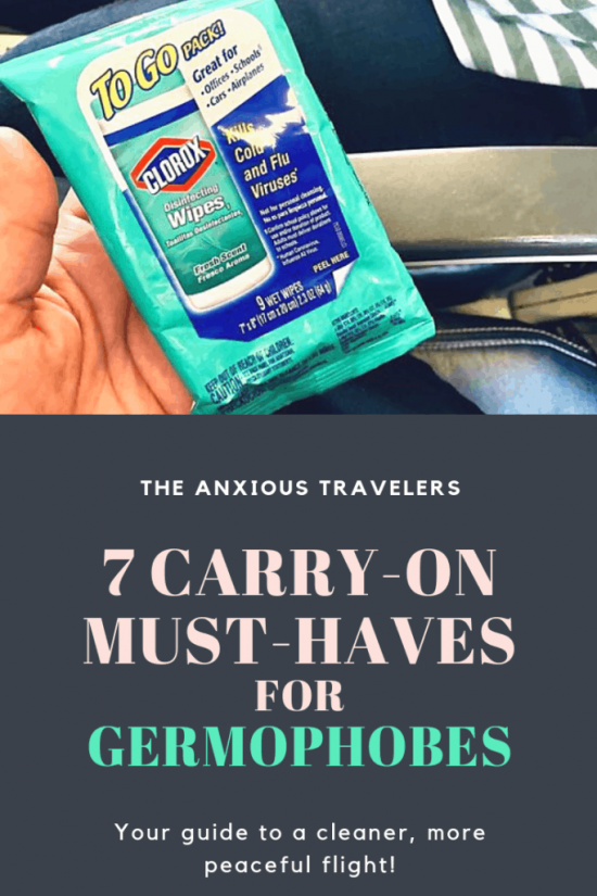 Pinterest 7 Carry-On Must-Haves for Germaphobes