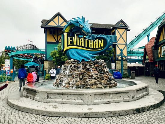 Canada's Wonderland Leviathan
