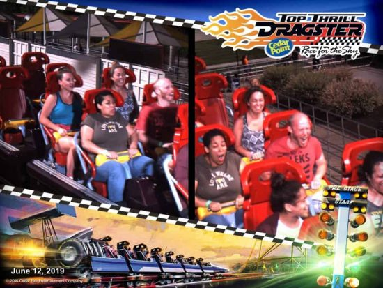 Cedar Point Top Thrill Dragster Ride Photo
