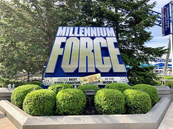 Cedar Point Millennium Force