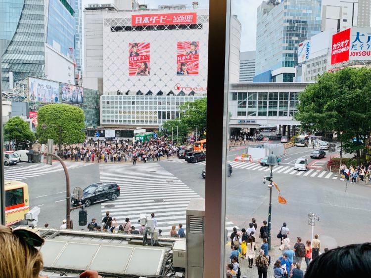 The Scramble Tokyo Japan