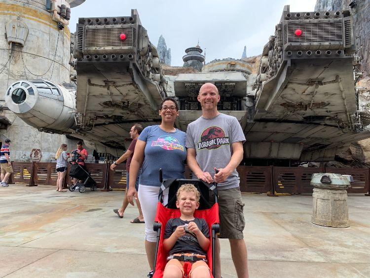Star Wars Galaxy's Edge Millennium Falcon Hollywood Studios Walt Disney World