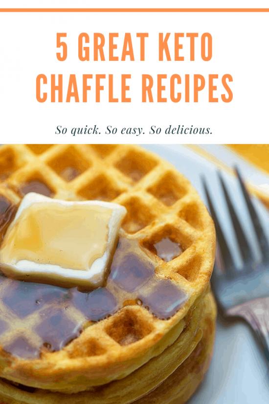 Keto chaffle low carb waffle