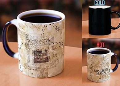 Harry Potter Heat Activated Marauder's Map Ceramic Mug