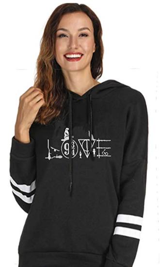 Harry Potter Love Letters Long Sleeve Hoodie