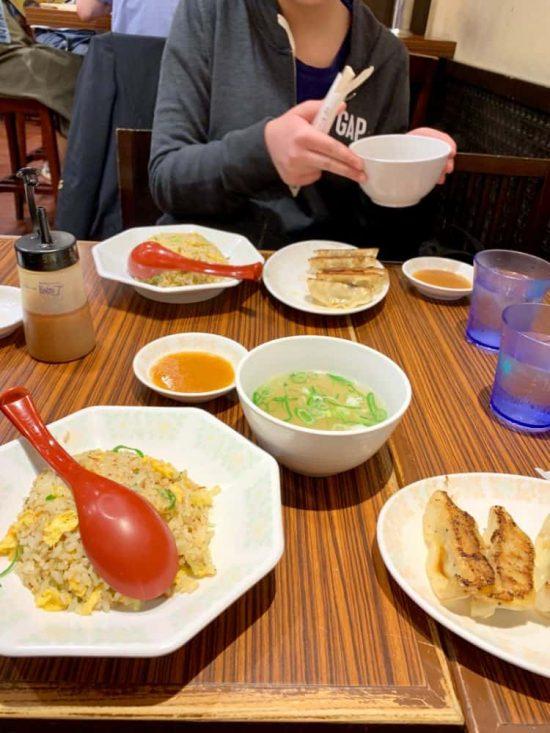 Shin Osaka Station affordable restaurants in Japan