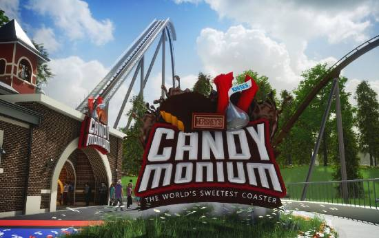 Candymonium - Hersheypark Hyper Coaster