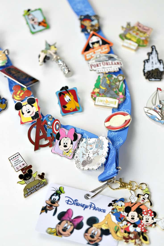 Disney Pin Lanyard