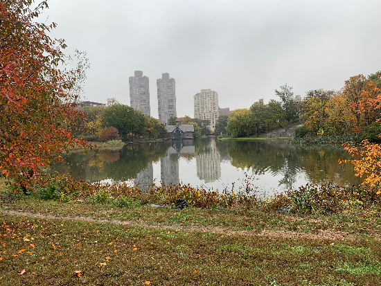 Central Park Harlem Meer Charles A. Dana Discovery Center