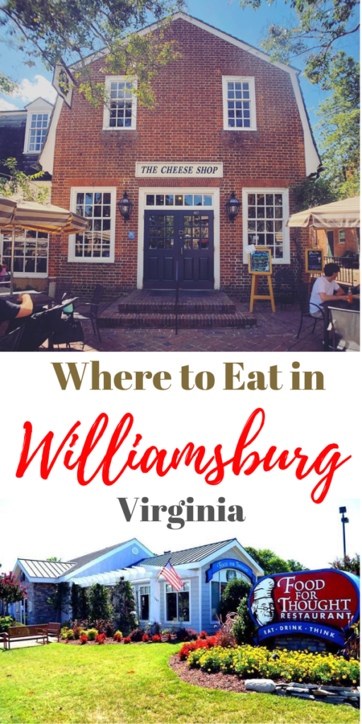 What to Eat in Williamsburg, Virginia