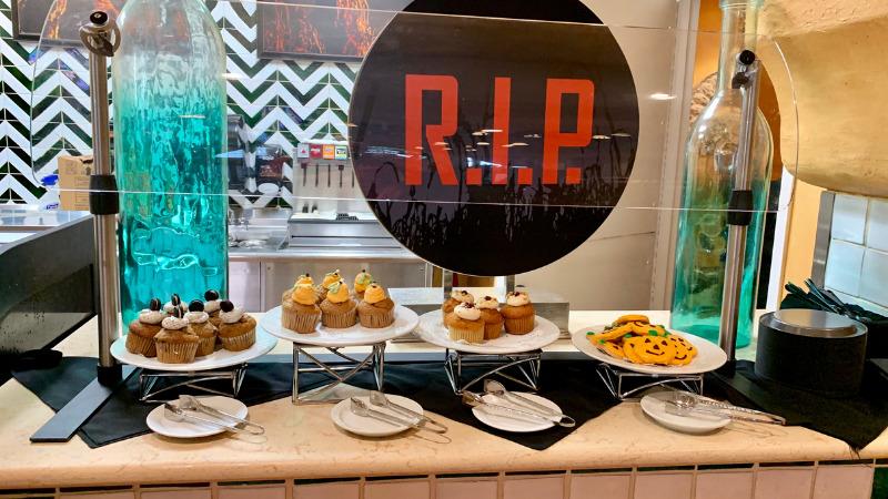 Food at Cafe LaBamba during RIP Tour at Halloween Horror Nights Orlando Universal