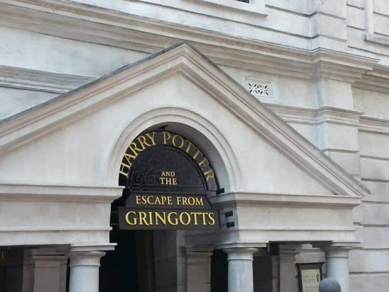 Universal Studios Diagon Alley Escape From Gringotts