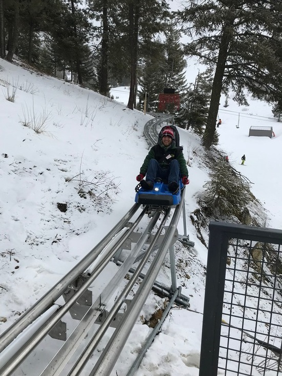 Bogus Basin Mountain Coaster Glade Runner
