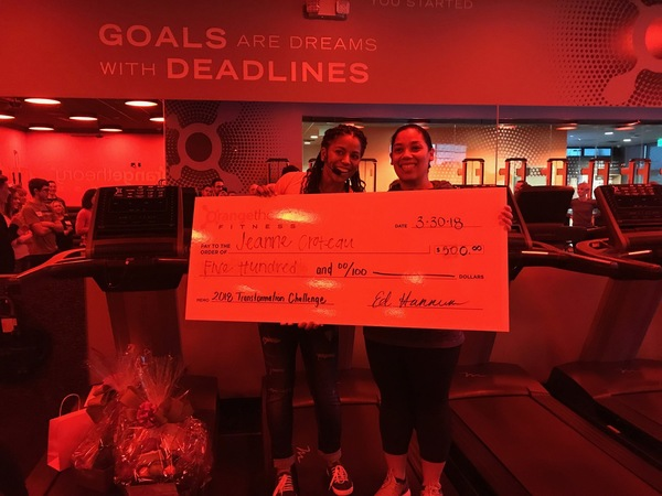 Orangetheory Transformation Challenge Winner