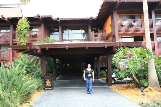 Walt Disney World Polynesian Hotel