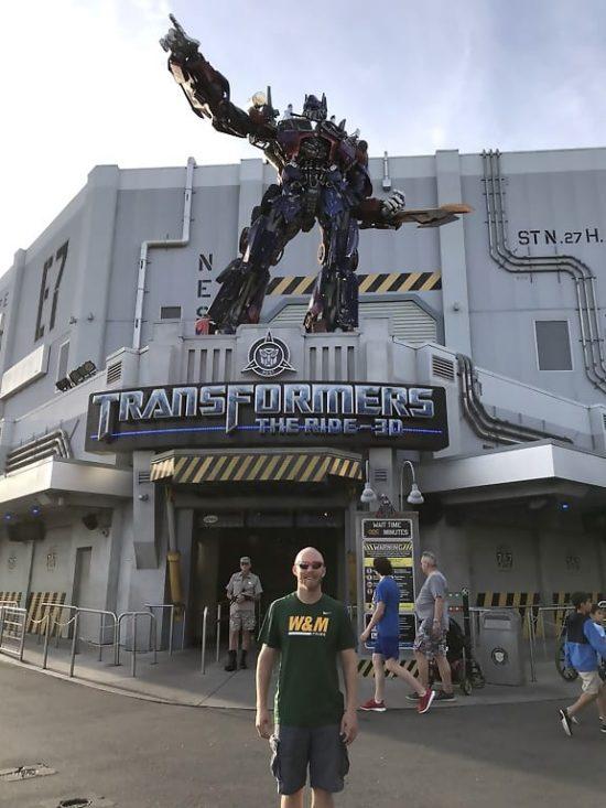 Univeral Studios Orlando Transformers The Ride 3D