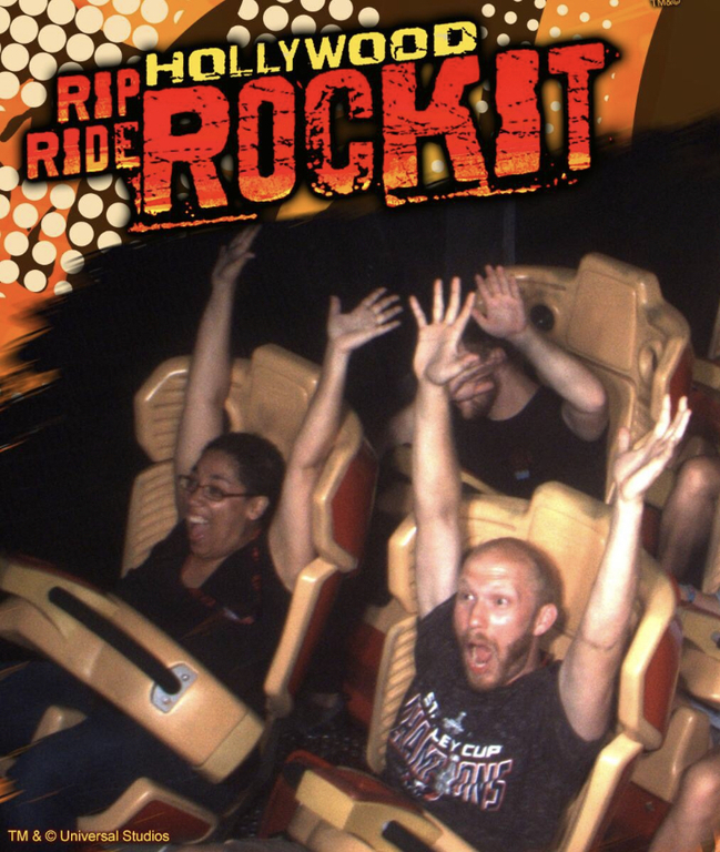 Universal Studios Hollywood Rip Ride Rockit