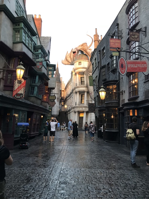 Wizarding World of Harry Potter Universal Studios Diagon Alley
