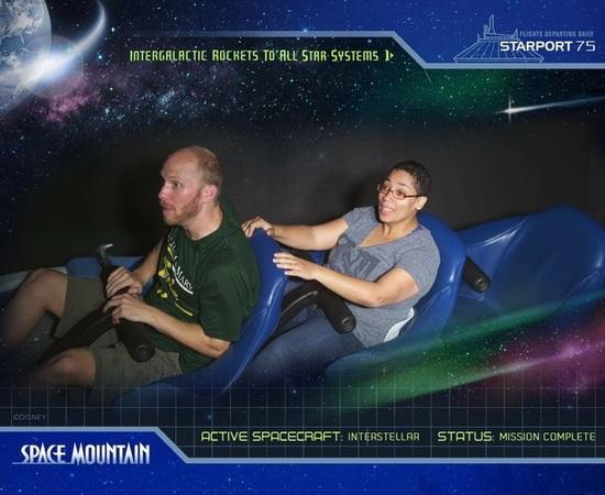 Walt Disney World Magic Kingdom Space Mountain