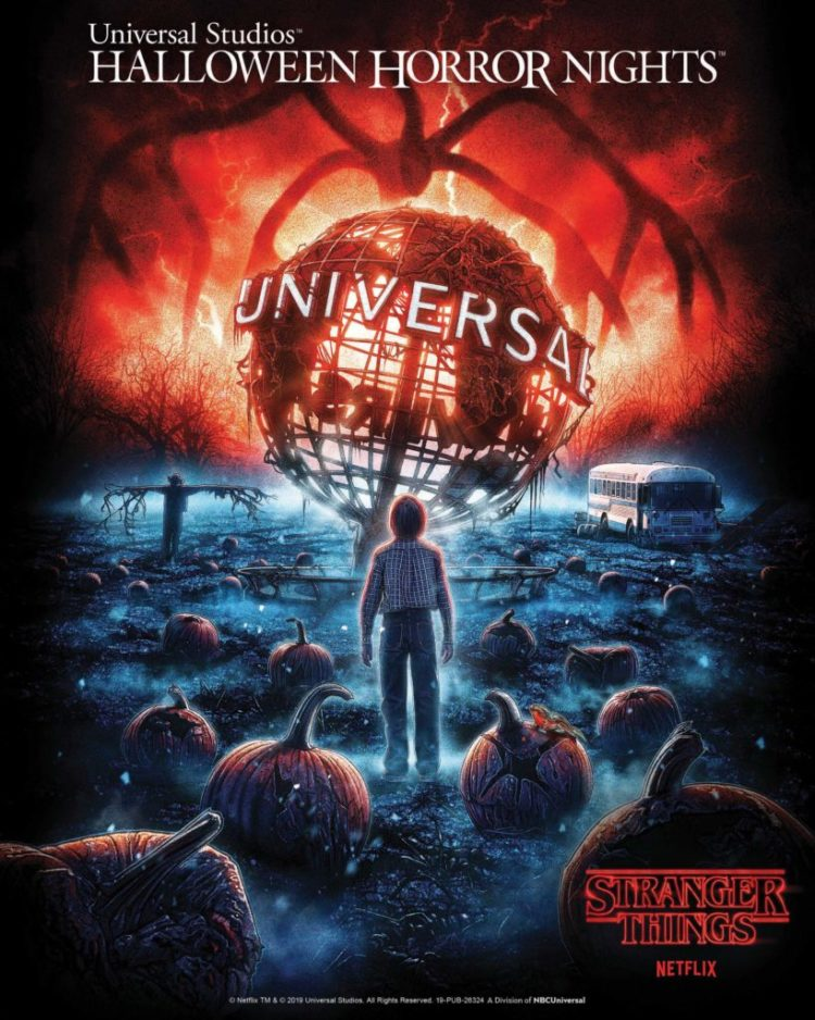 Universal Orlando Resort Stranger Things Halloween Horror Nights