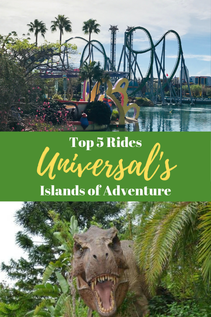 Top 5 Rides at Islands of Adventure (2)