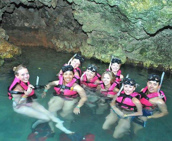 Xcaret cave