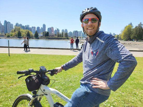 Vancouver BMW eBike Stanley Park Fairmont Pacific Rim